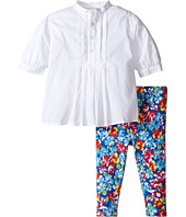 Ralph Lauren Baby - Cotton Jersey Pintuck Leggings Set (Infant)