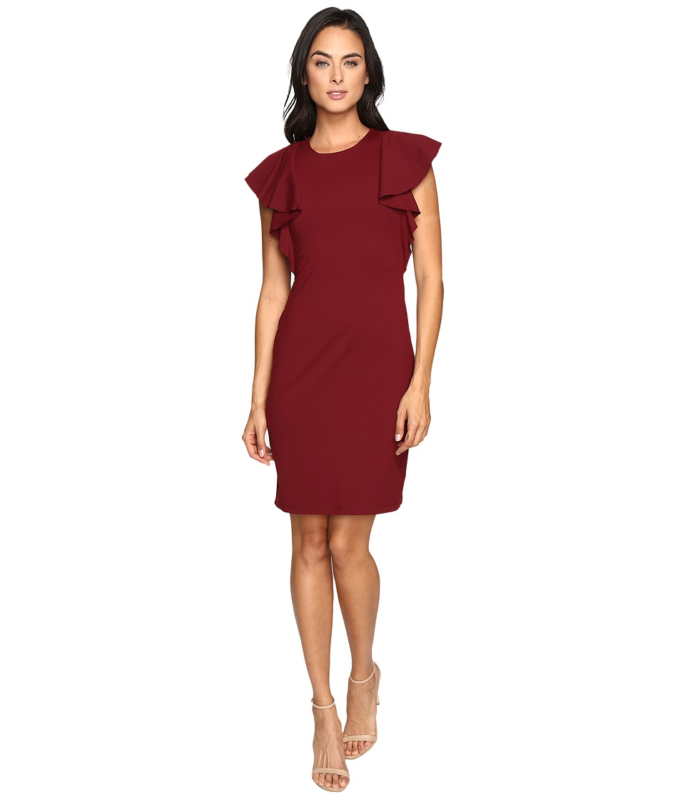 Susana Monaco Lana Dress (Oxblood) Women