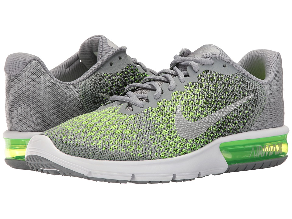 Nike Air Max Sequent 2 (Stealth/Metallic Silver/Electric ...
