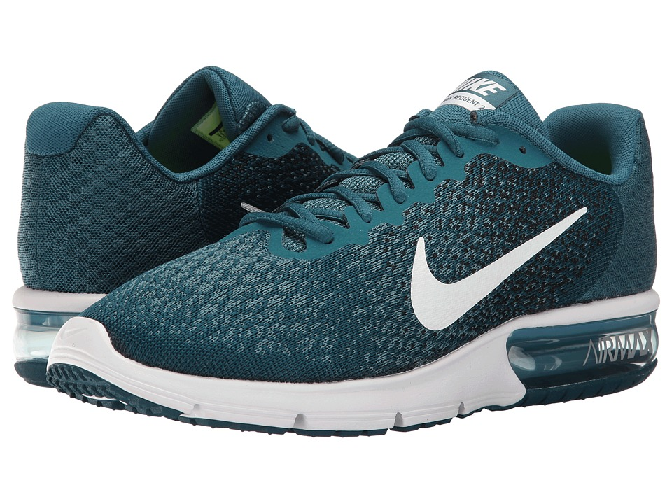 Nike Air Max Sequent 2 (Legion Blue/White/Black/Smokey Blue) Men