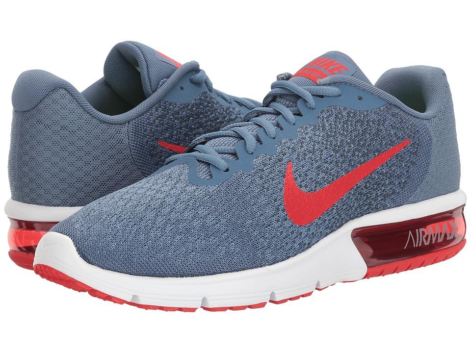 Nike Air Max Sequent 2 (Ocean Fog/University Red/Squadron Blue) Men
