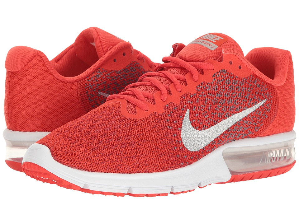 Nike Air Max Sequent 2 (Max Orange/Metallic Cool Grey/Coo...