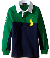 Polo Ralph Lauren Kids - Jersey Raglan Rugby (Toddler)