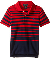 Polo Ralph Lauren Kids - Yarn-Dyed Mesh Short Sleeve Shirt (Toddler)