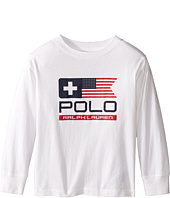 Polo Ralph Lauren Kids - Basic Jersey Graphic T-Shirt (Toddler)