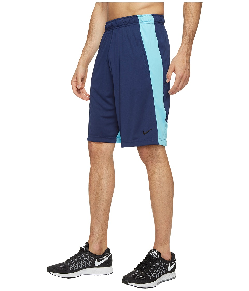 Nike Dry 9 Training Short (Binary Blue/Vivid Sky/Black) Men