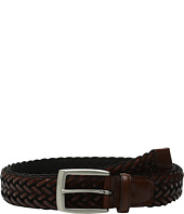 Torino Leather Co. - 35mm Italian Braided Rayon with Calf Inlay