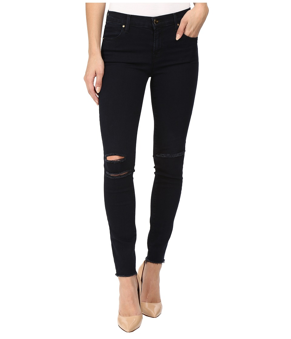 J Brand Ankle Mid-Rise Skinny in Blue Mercy (Blue Mercy) ...