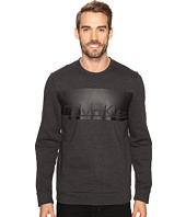 Calvin Klein - Long Sleeve Printed Crew Neck Sweatshirt
