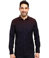 Calvin Klein - Long Sleeve Ombre Check Button Down Shirt