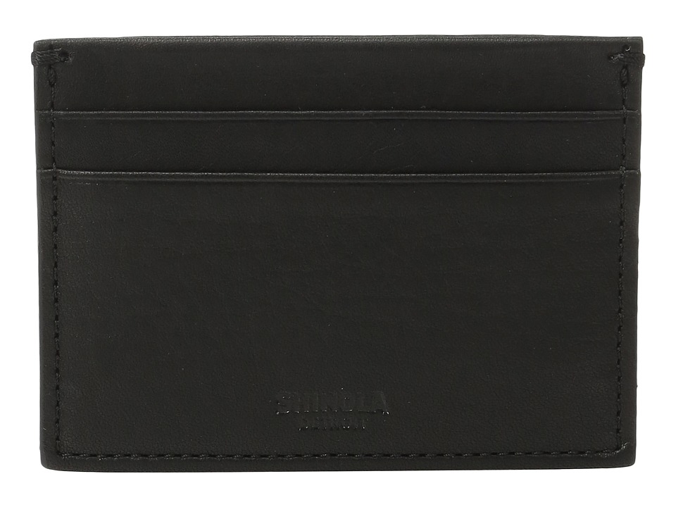 Shinola Detroit - Five-Pocket Card Case (Black) Wallet Handbags
