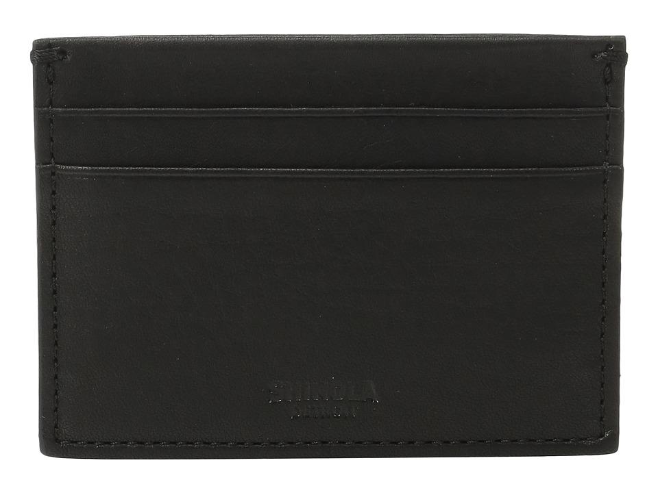 Shinola Detroit - Five-Pocket Card Case (Black) Wallet Handbags