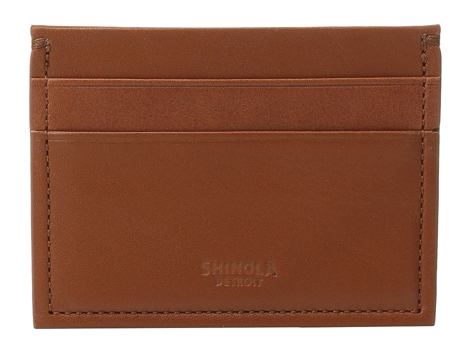 Shinola Detroit - Five-Pocket Card Case (Bourbon) Wallet Handbags