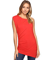 HEATHER - Asymmetric Shirred Top
