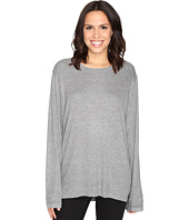 HEATHER - Split Front Long Sleeve Top