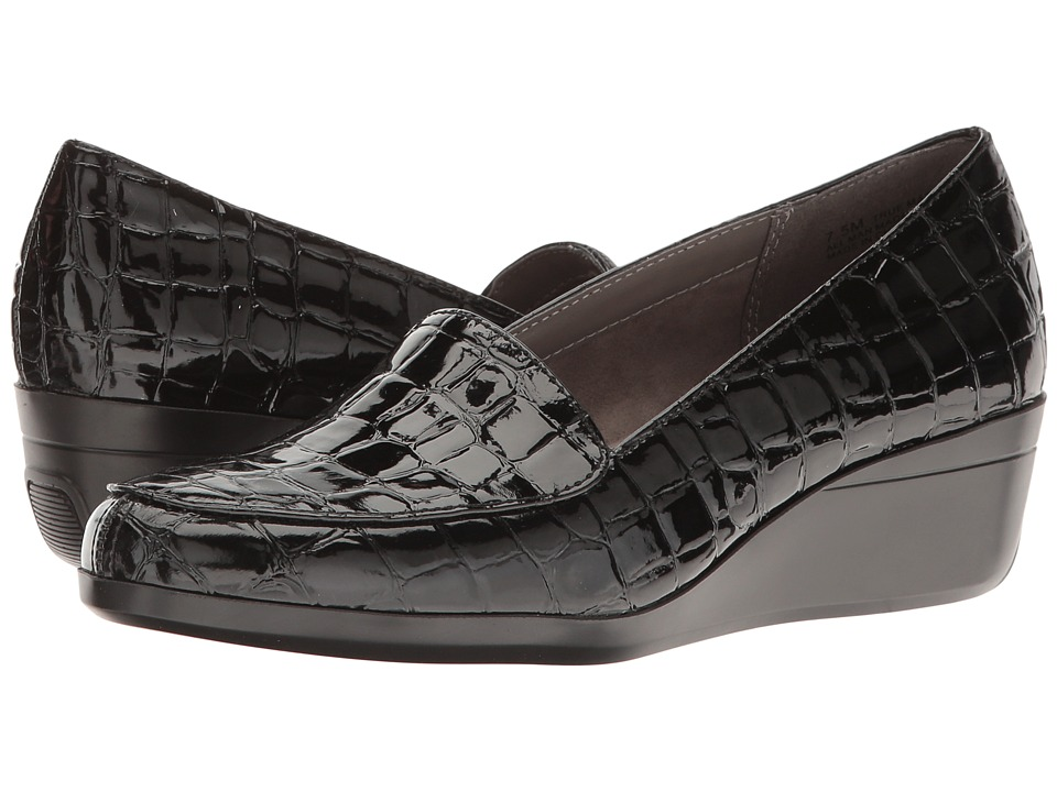 Aerosoles True Match (Black Croco) Women