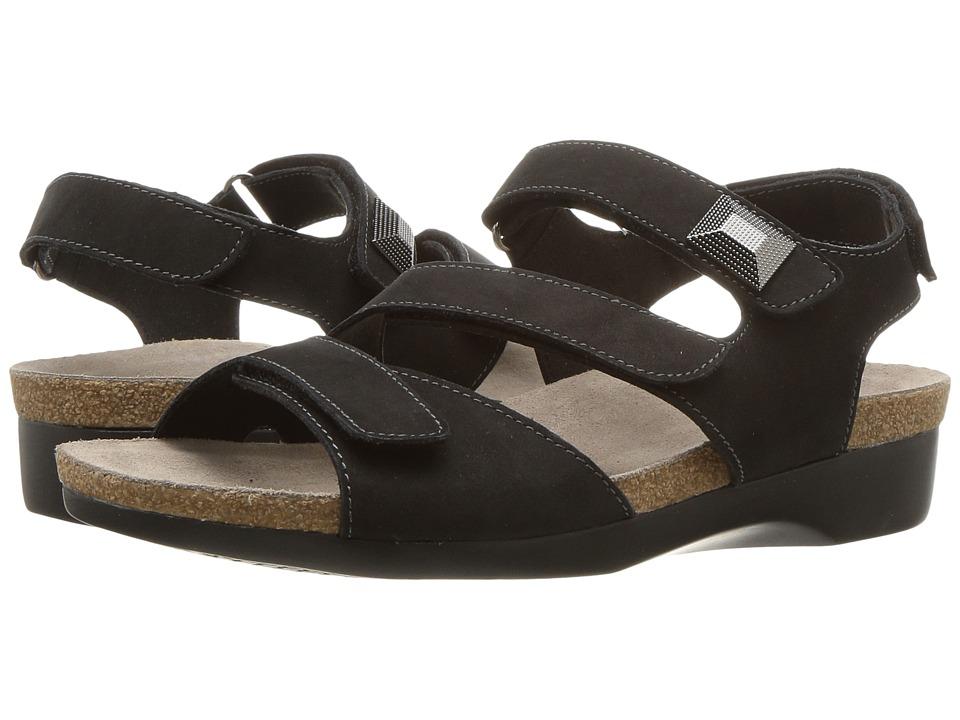 Munro Antila (Black Nubuck) Women's Shoes