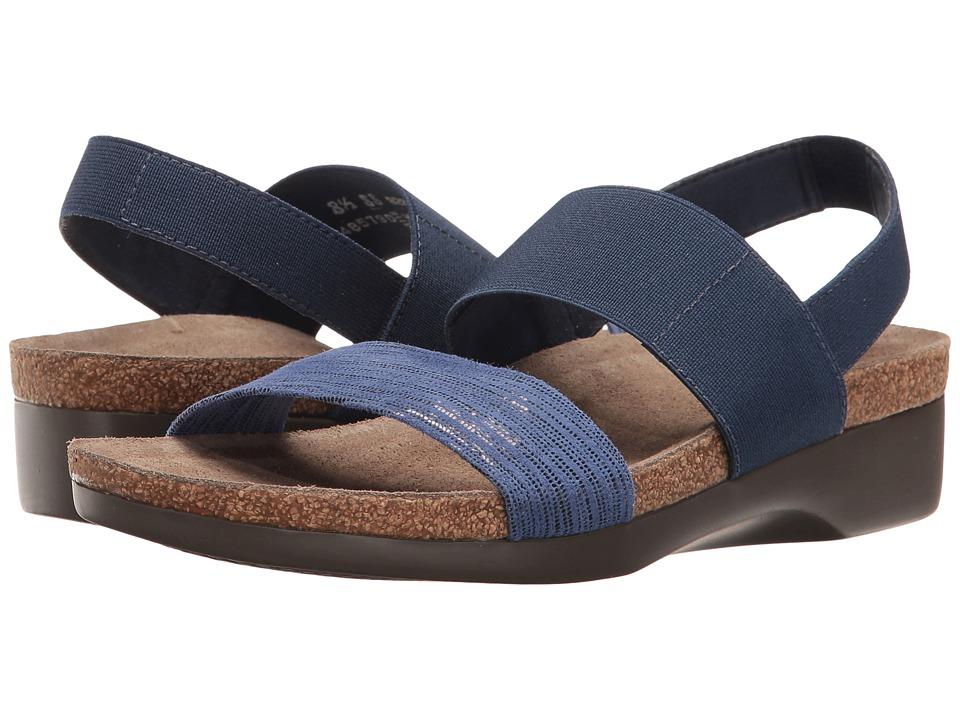 MUNRO Pisces (Blue Lizard Print) Women's Sandals