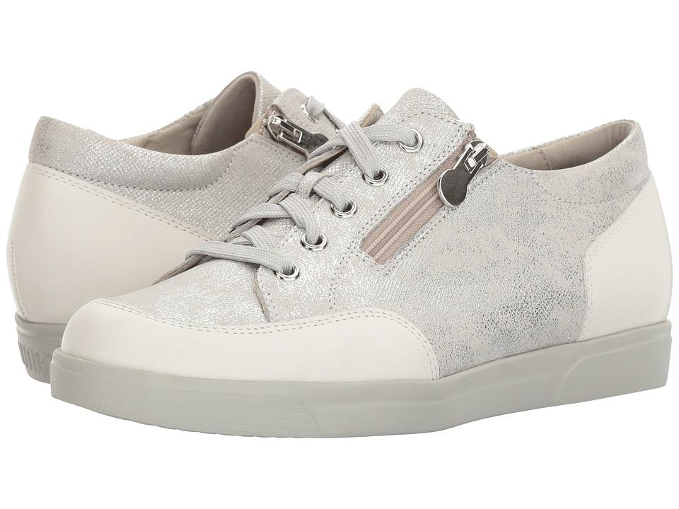 Munro Gabbie (White Metallic Print) Women's Shoes