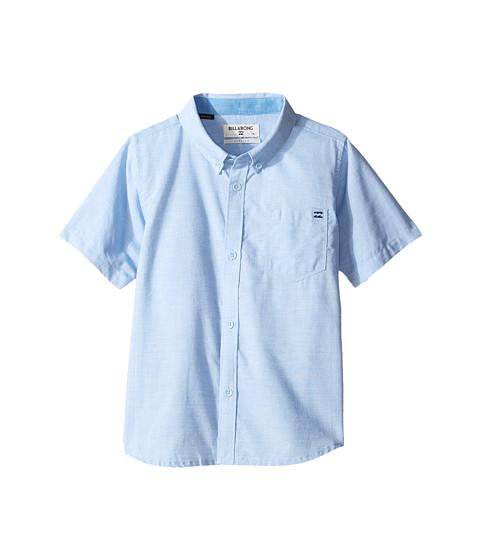 Billabong kids all day chambray short sleeve shirt for Chambray shirt for kids