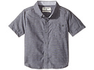 All Day Chambray Short Sleeve Shirt (Toddler/Little Kids)