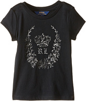 Polo Ralph Lauren Kids - Enzyme Jersey Short Sleeve Graphic Tee (Little Kids)