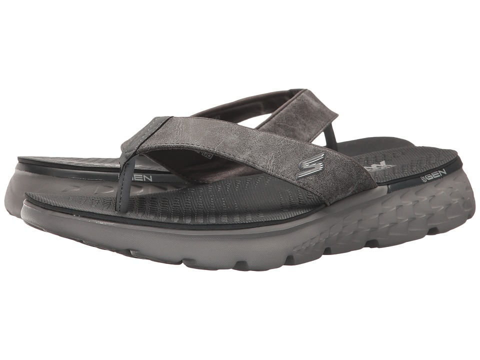 SKECHERS Performance On-The-Go 400 (Charcoal) Men