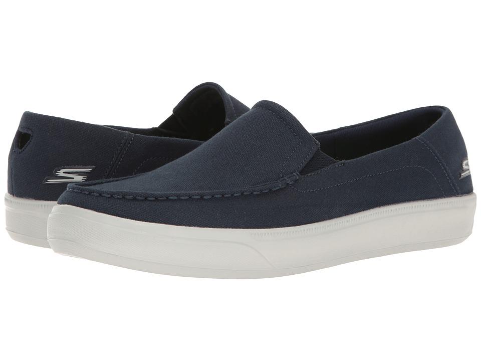SKECHERS Performance - Go Vulc 2 (Navy/Gray) Mens Shoes