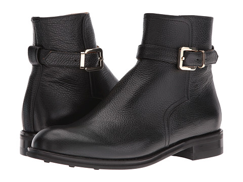 Del Toro Leather Zip Chelsea Boot