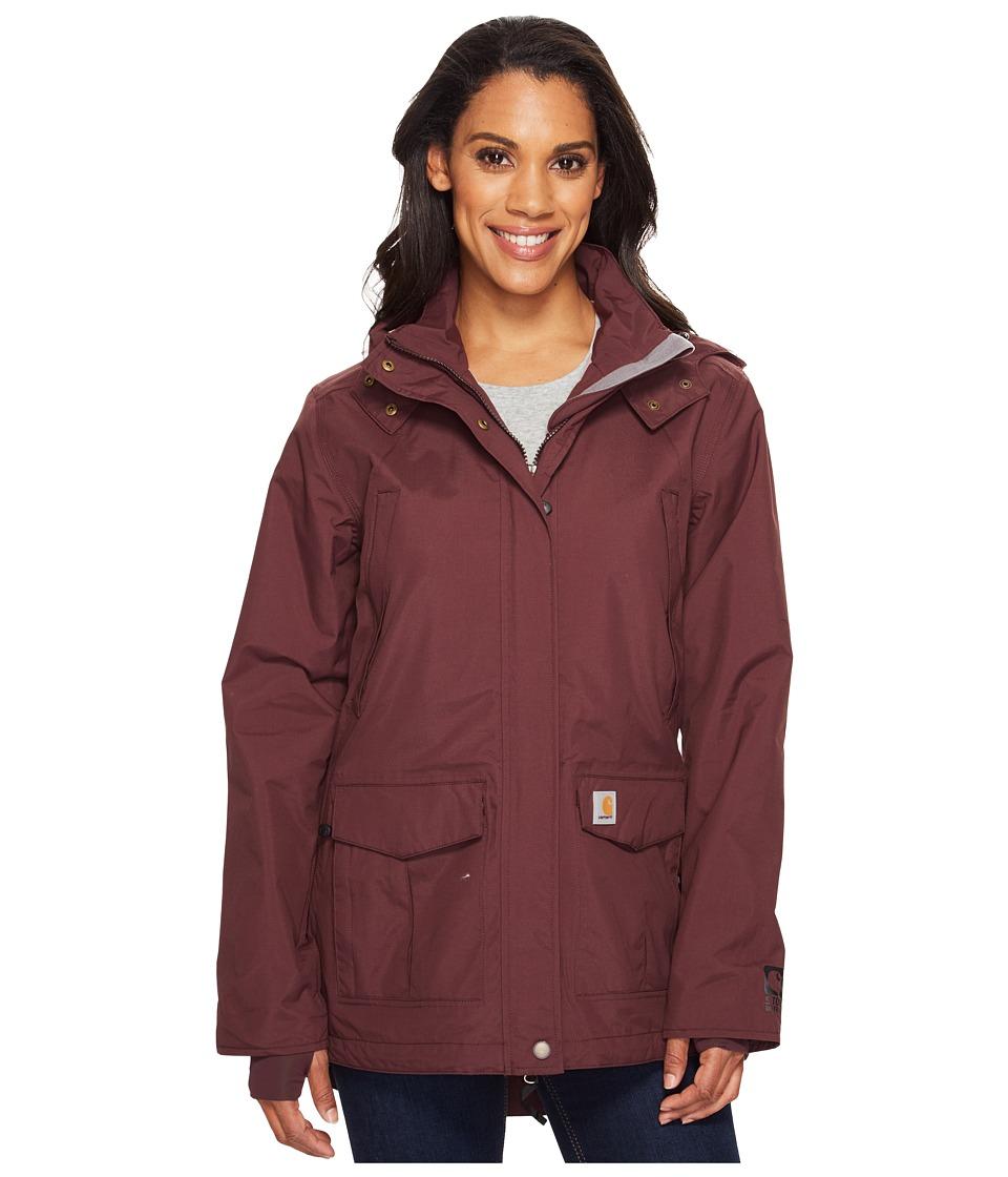 Carhartt Shoreline Jacket (Deep Wine) Women