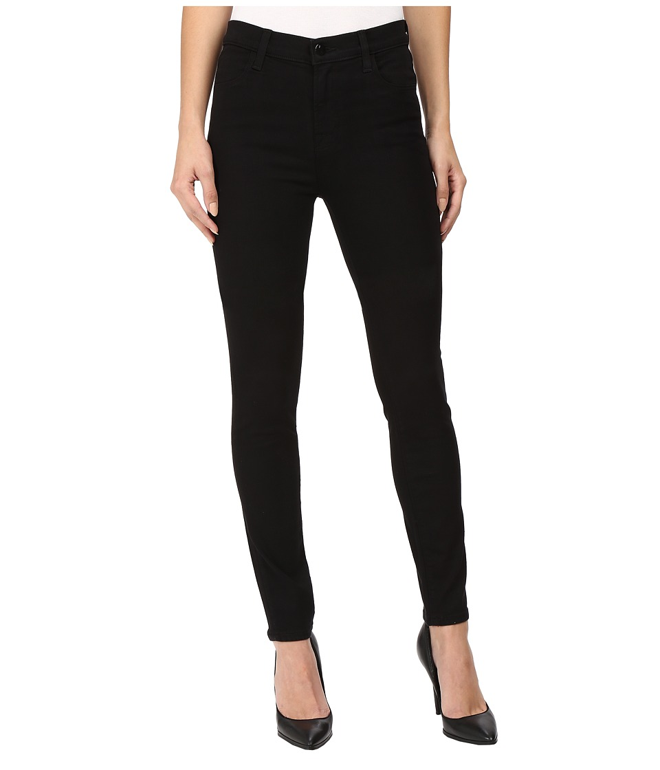 J Brand - Maria High-Rise Skinny in Seriously Black
