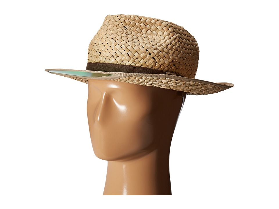 Brixton - Hunter Fedora (Tan) Fedora Hats