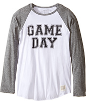 The Original Retro Brand Kids - Game Day Long Sleeve Raglan (Big Kids)