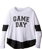 The Original Retro Brand Kids - Game Day Long Sleeve Inset Thermal (Big Kids)