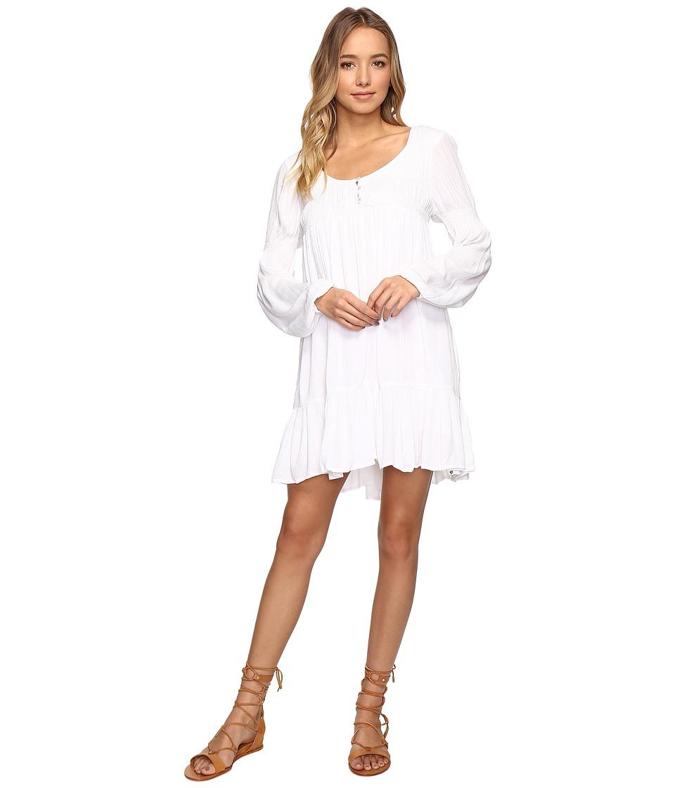 Volcom Ethos Long Sleeve Dress (White) Women