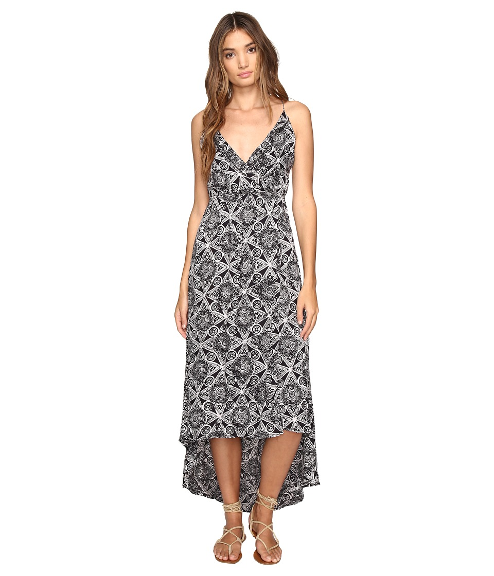Volcom Troublemaker Dress (Black Combo) Women