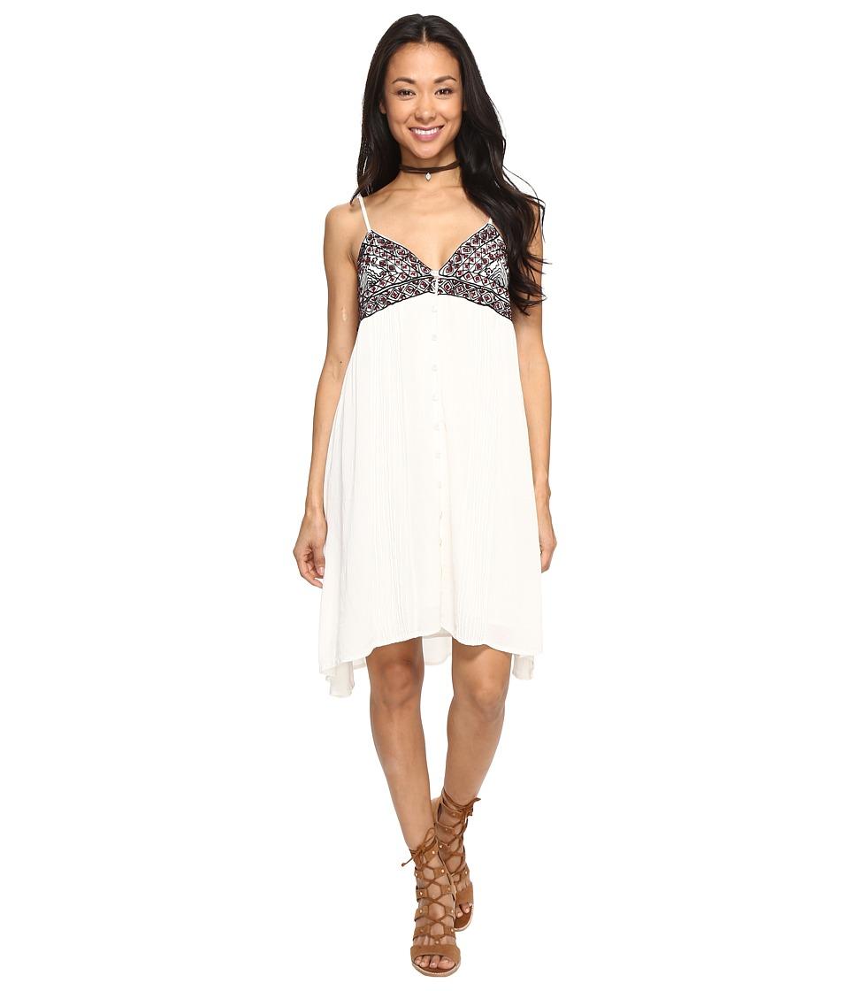 Volcom Be Easy Dress (Vintage White) Women