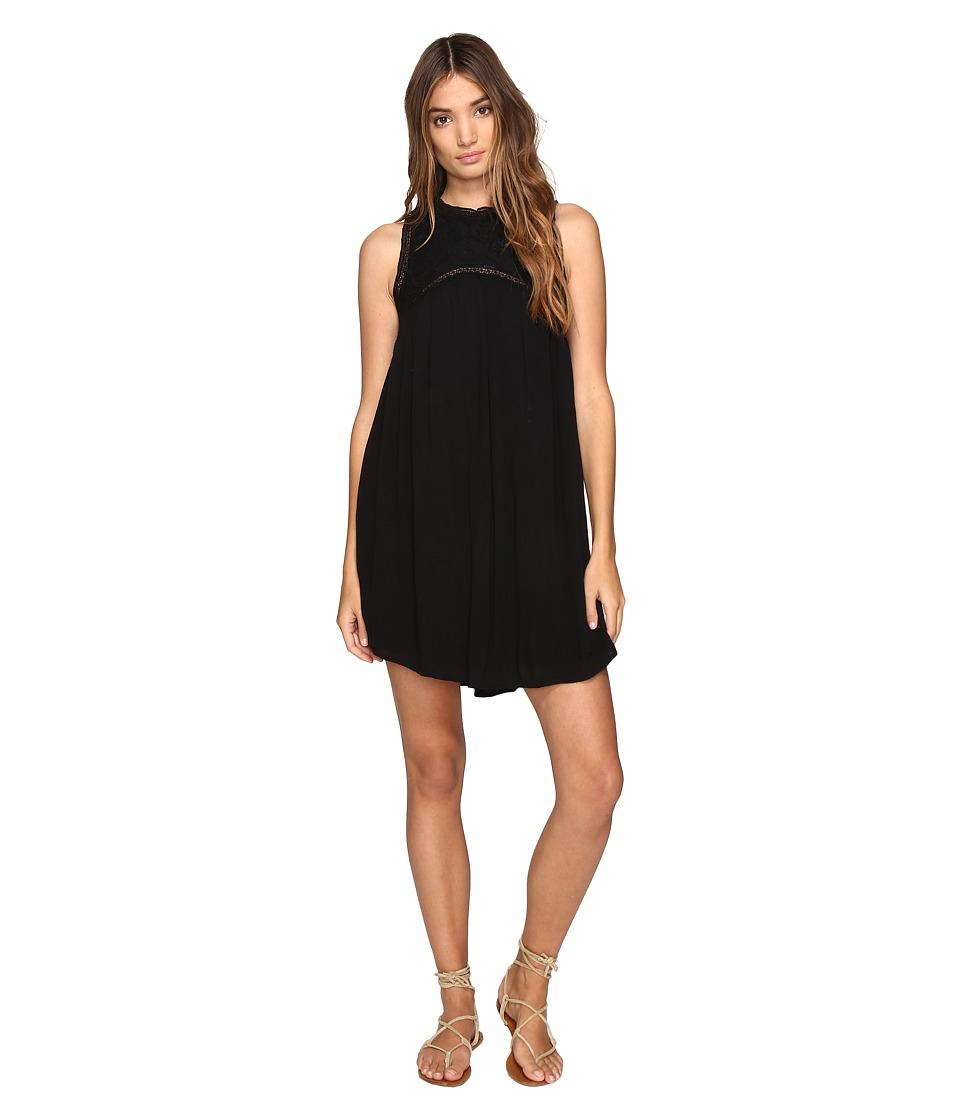 Volcom Sunset Path Dress (Black) Women