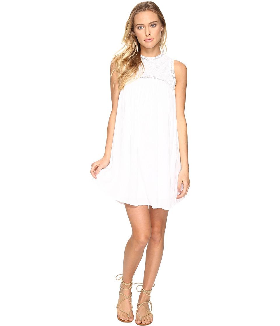 Volcom Sunset Path Dress (White) Women