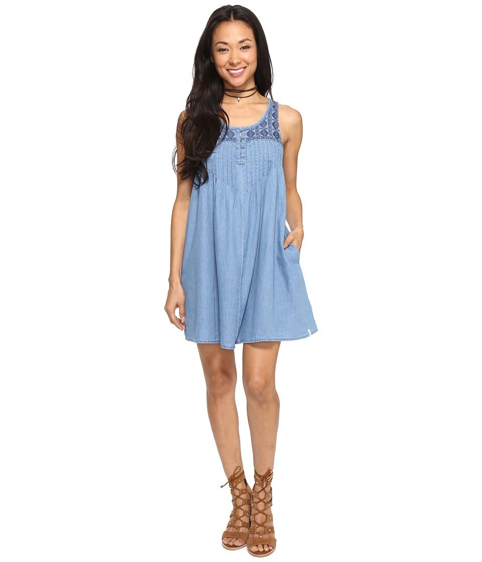 Volcom Cham Hey Dress (Cloud Blue) Women