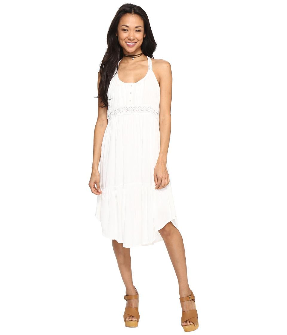 Volcom Summit Stone Dress (Vintage White) Women