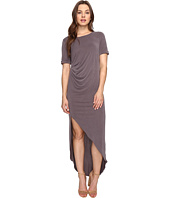 Culture Phit - Ines Short Sleeve Dress with Ruched Side