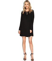 Culture Phit - Rozelle Long Sleeve Tie-Up Dress