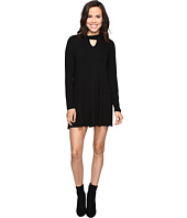 Culture Phit - Priscilla Long Sleeve Keyhole Dress
