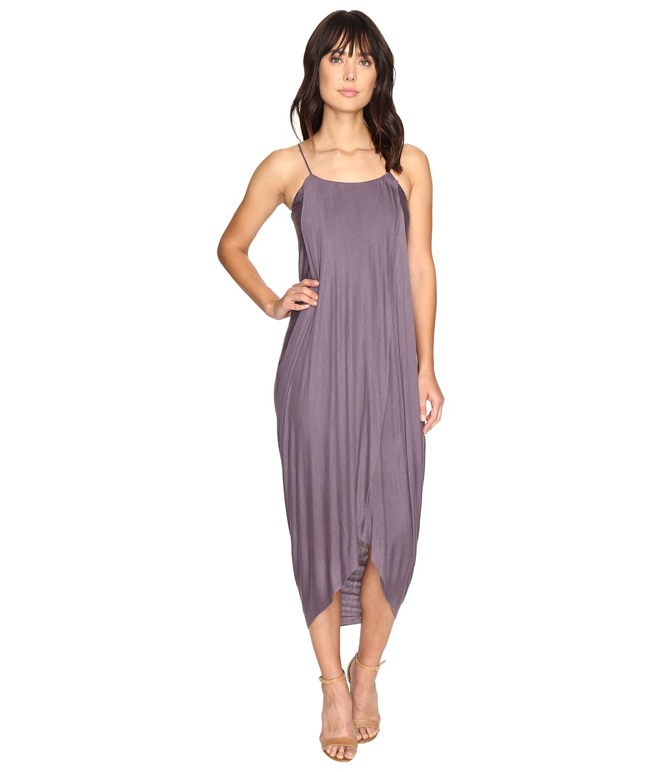 Culture Phit Daphne Spaghetti Strap Maxi Dress (Purple) Women