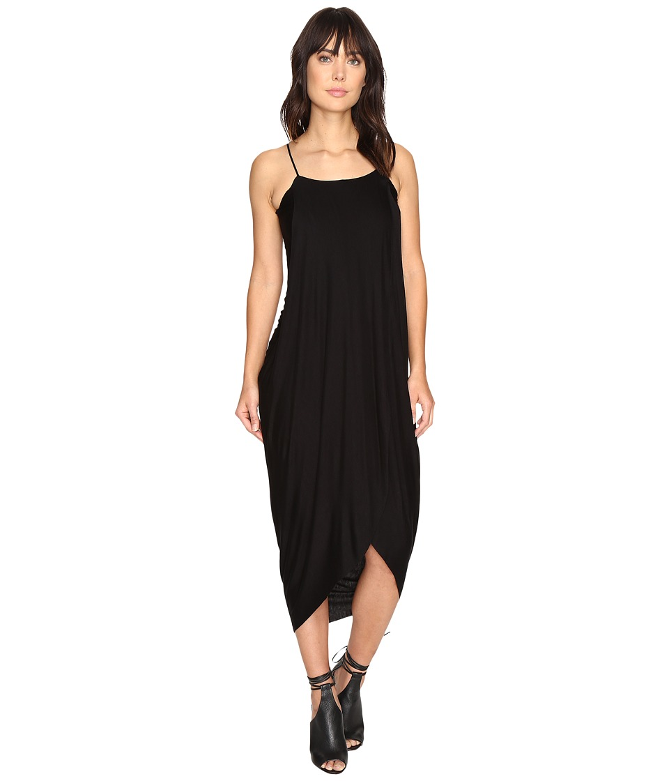 Culture Phit Daphne Spaghetti Strap Maxi Dress (Black) Women