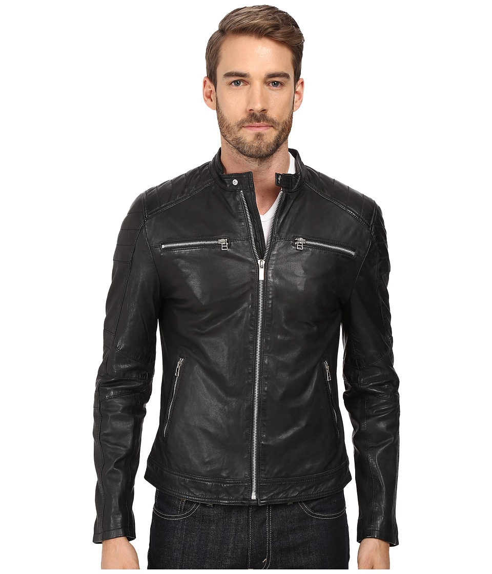 Goosecraft Sheep Skin Jacket (Black) Men