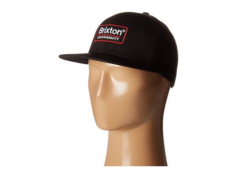 Brixton Palmer Mesh Cap - Black