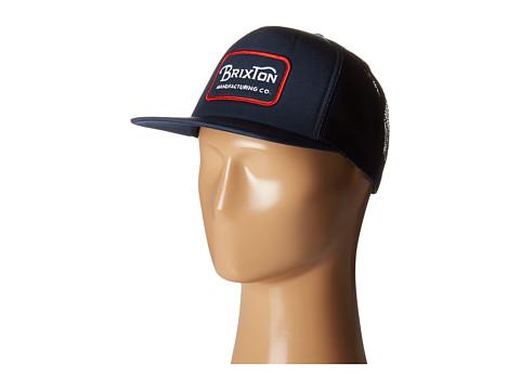 Brixton Grade Mesh Cap - Navy/Red