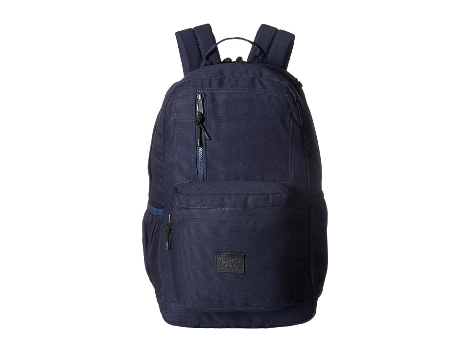 Brixton Bellows Backpack (Navy) Backpack Bags